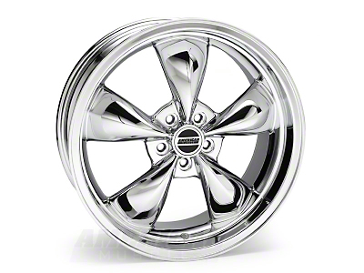 Chrome Deep Dish Bullitt Wheel - 20x8.5 (94-04 All)
