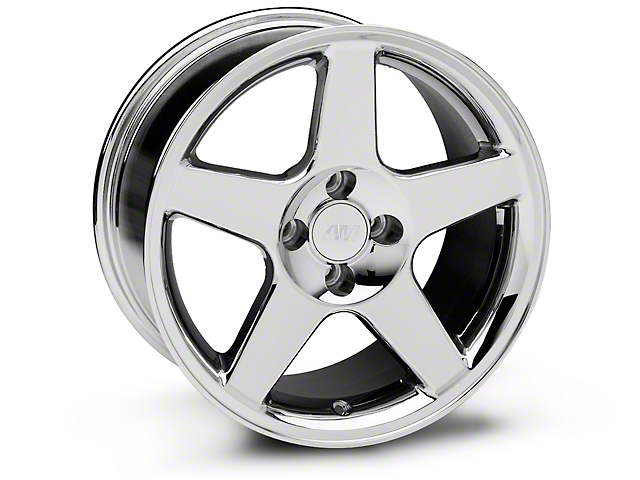 2003 Cobra Style Chrome Wheel - 17x9 (87-93; Excludes 93 Cobra)