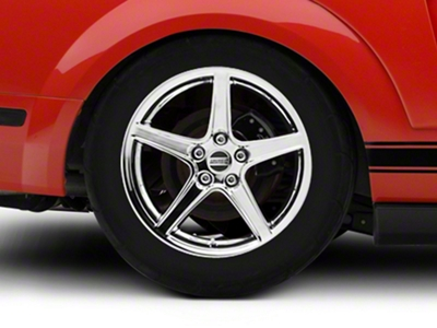 Saleen Style Chrome Wheel - 18x10 (05-14 GT, V6)