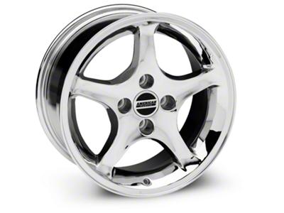 1995 Cobra R Style Chrome Wheel - 16x8 (87-93; Excludes 93 Cobra)