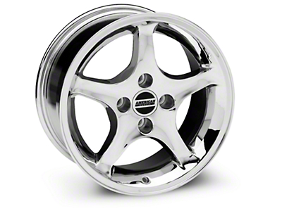 1995 Cobra R Style Chrome Wheel - 16x8 (87-93; Excludes 93 Cobra)