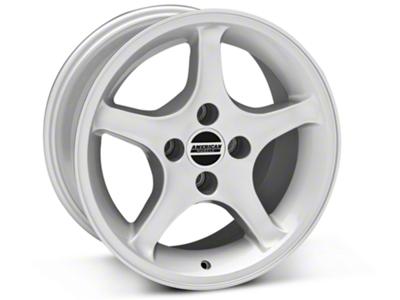 1995 Cobra R Style Silver Wheel - 16x8 (87-93; Excludes 93 Cobra)