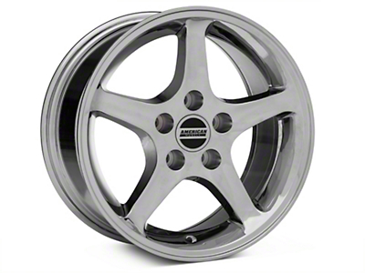 Chrome 1995 Style Cobra R Wheel - 16x8 (94-04 GT, V6)