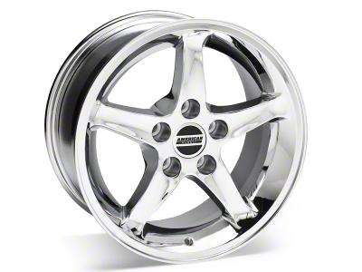 1995 Cobra R Style Chrome Wheel - 16x8 (87-93 5 Lug Conversion)