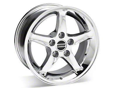 1995 Cobra R Style Chrome Wheel - 16x8 (87-93 5 Lug Conversion)