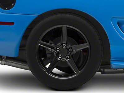 Black Saleen Style Wheel - 18x10 (94-04 All)