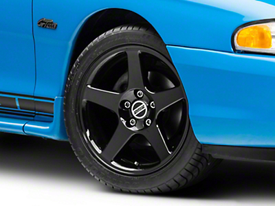 Black 2003 Style Cobra Wheel - 17x9 (94-04 All)