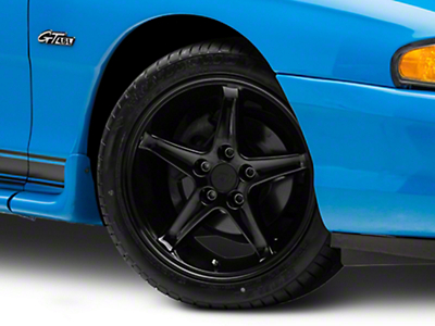 Black 1995 Style Cobra R Wheel - 17x9 (94-04 All)