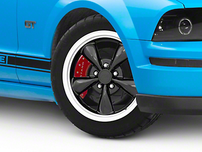 Bullitt Black Wheel - 17x8 (05-14 V6; 05-10 GT, Excluding GT500)