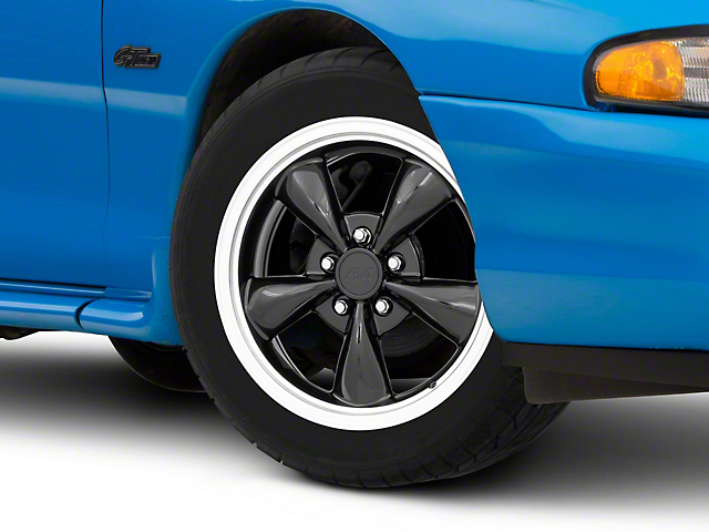 Bullitt Black Wheel - 17x8 (94-04 All)
