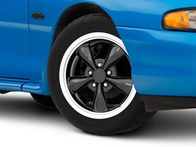 Bullitt Black Wheel - 17x8 (94-04 All)