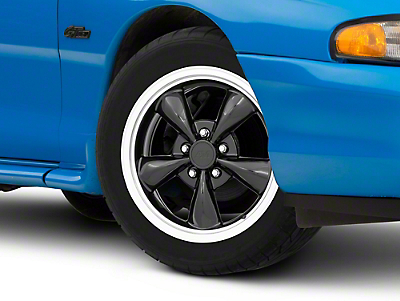 Black Bullitt Wheel - 17x8 (94-04 All)