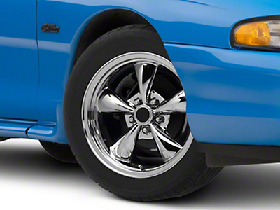 Chrome Bullitt Wheel - 17x8 (94-04 All)