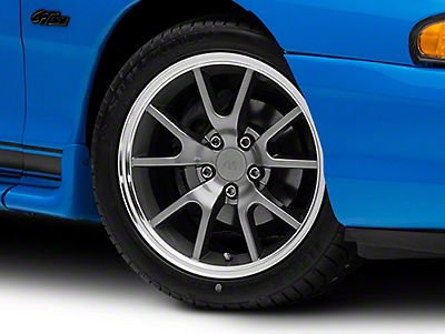 FR500 Style Anthracite Wheel - 17x9 (94-04 All)