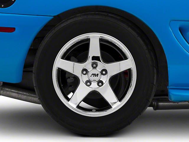 2003 Cobra Style Chrome Wheel - 17x10.5 (94-04 All)