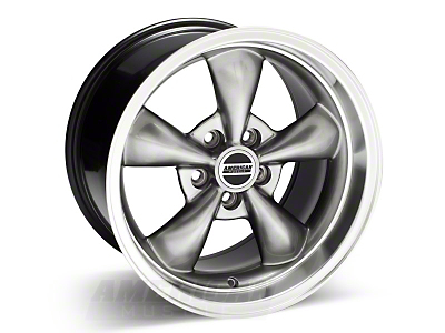 Hypercoated Deep Dish Bullitt Wheel - 17x10.5 (94-04 All)