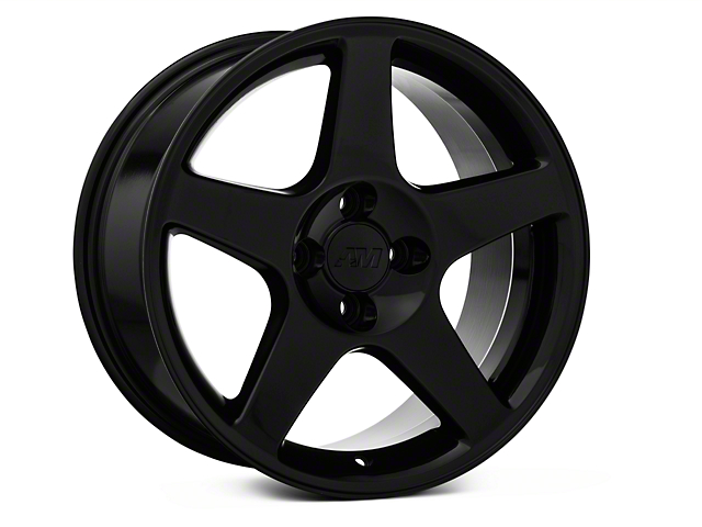 2003 Cobra Style Black Wheel - 17x9 (87-93; Excludes 93 Cobra)