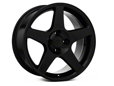 Black 2003 Style Cobra Wheel - 17x9 (87-93; Excludes 93 Cobra)