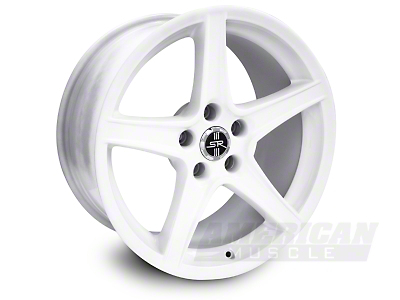 White Mustang Saleen Wheel 94-04 (18x9)