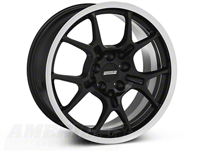 GT4 Black Wheel - 18x9 (87-93 5 Lug Conversion)