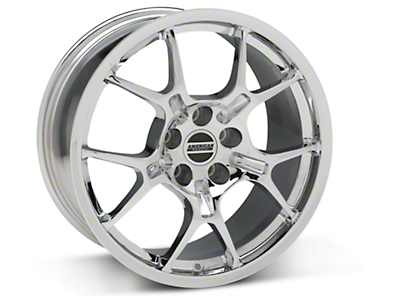 GT4 Chrome Wheel - 18x9 (87-93 5 Lug Conversion)