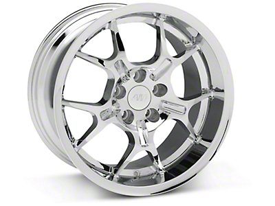 Chrome Deep Dish GT4 Wheel - 18x10 (94-04 All)
