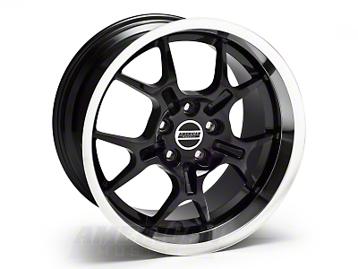 Black Deep Dish GT4 Wheel - 18x10 (05-14 All)