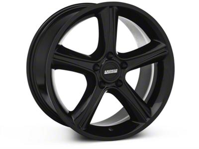 2010 GT Premium Style Black Wheel - 18x9 (87-93 5 Lug Conversion)