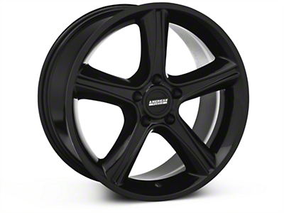 2010 GT Premium Black Wheel - 18x9 (87-93 5 Lug Conversion)