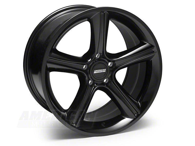 2010 GT Premium Style Black Wheel - 18x10 (05-14 GT, V6)