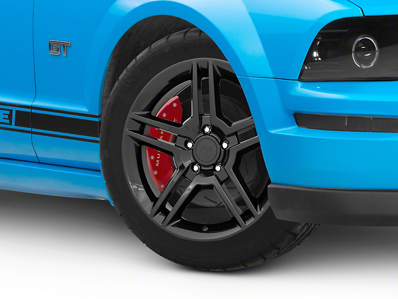 2010 GT500 Style Black Wheel - 18x9 (05-14 All)