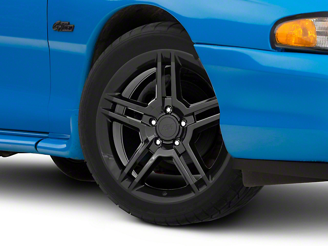 2010 GT500 Style Black Wheel - 18x9 (94-04 All)