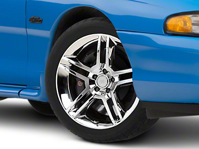 Chrome 2010 Style GT500 Wheel - 18x9 (94-04 All)
