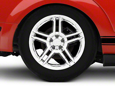 2010 GT500 Style Chrome Wheel - 18x10 (05-14 All)