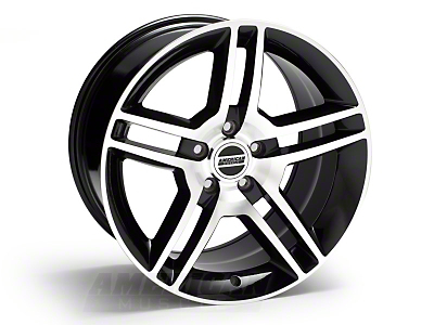Black Machined 2010 Style GT500 Wheel - 18x10 (05-14 All)