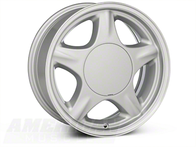 Silver Pony Wheel - 16x7 (87-93; Excludes 93 Cobra)