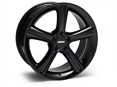 Black 2010 Style GT Premium Wheel - 19x8.5 (94-04 All)