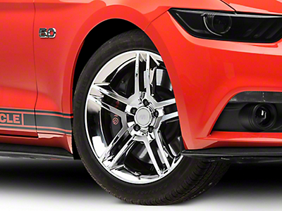 2010 GT500 Style Chrome Wheel - 19x8.5 (15-16 All)