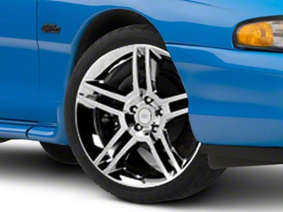 2010 GT500 Style Chrome Wheel - 19x8.5 (94-04 All)