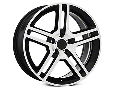 Black Machined 2010 Style GT500 Wheel - 19x8.5 (05-14 All)