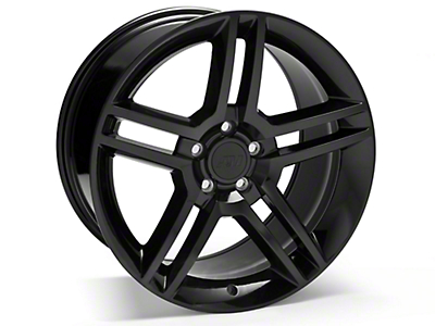 Black 2010 Style GT500 Wheel - 19x10 (05-14 All)