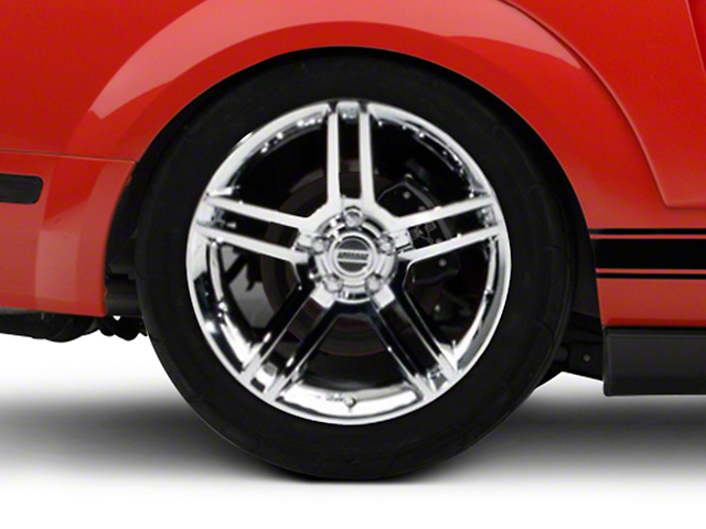 2010 GT500 Style Chrome Wheel - 19x10 (05-14 All)