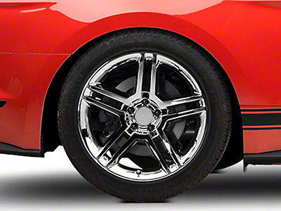 2010 GT500 Style Chrome Wheel - 19x10 (15-16 All)