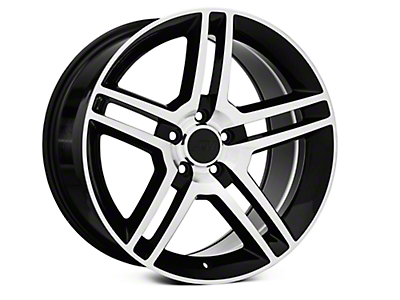Black Machined 2010 Style GT500 Wheel - 19x10 (05-14 All)