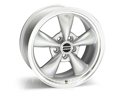 Bullitt Silver Wheel - 17x8 (05-14 V6; 05-10 GT, Excluding GT500)