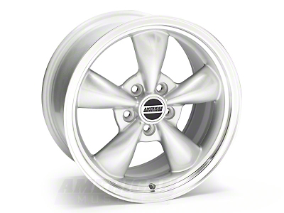 Bullitt Silver Wheel - 17x9 (05-14 V6; 05-10 GT, Excluding GT500)