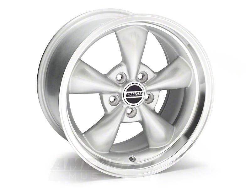 Deep Dish Bullitt Silver Wheel - 17x10 (05-14 V6; 05-10 GT)