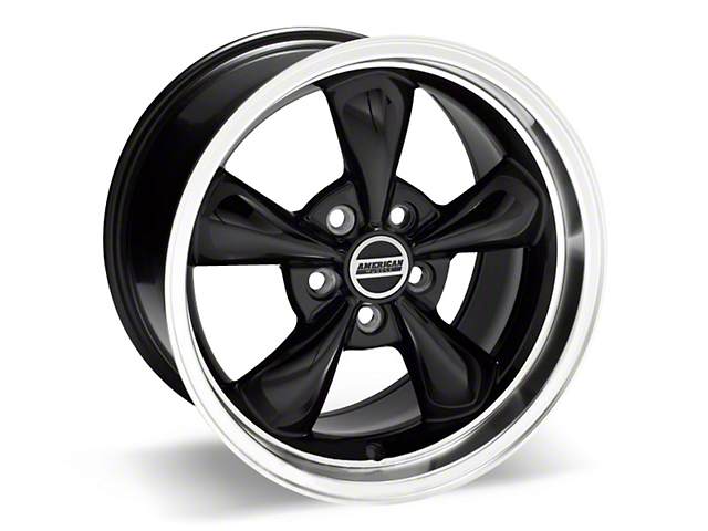 Deep Dish Bullitt Black Wheel - 17x10 (05-14 V6; 05-10 GT)