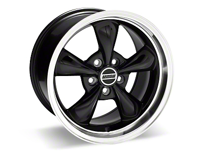 Deep Dish Bullitt Black Wheel - 17x10 (05-14 V6; 05-10 GT, Excluding GT500)