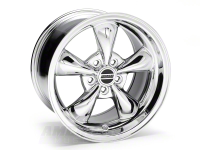 Deep Dish Bullitt Chrome Wheel - 17x10 (05-14 V6; 05-10 GT)